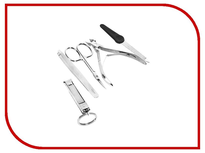 Аксессуар Маникюрный набор Zinger MS-ZM-12 S-SF маникюрный набор 8 предметов zinger ms 7106 s коричневый