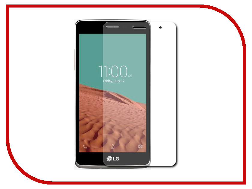 Аксессуар Защитное стекло LG Max L Bello 2 Dekken 0.26mm 2.5D глянцевое 20200<br>