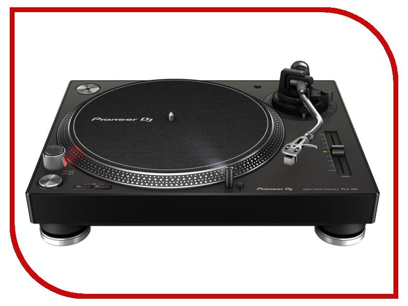 Проигрыватель виниловых дисков Pioneer PLX-500 Black<br>