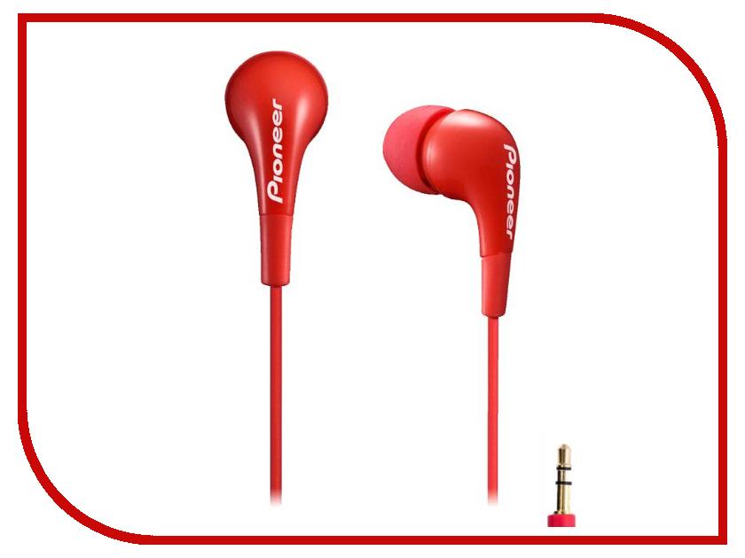 Наушники Pioneer SE-CL502-R Red<br>