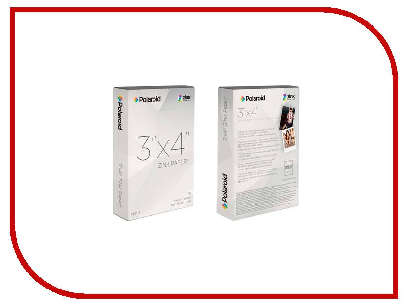 Фотобумага Polaroid Zink M340 3x4 10 фото для Z340 POLZ1X430