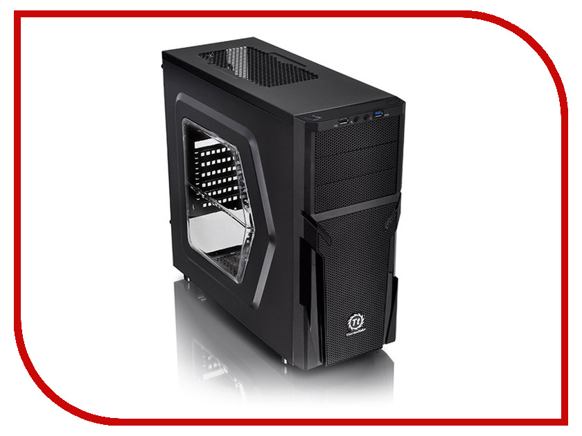 Корпус Thermaltake Versa H21 Window CA-1B2-00-M1WN-00 Black microlab h21 black
