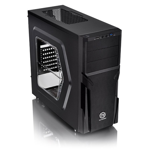 Корпус Thermaltake Versa H21 Window CA-1B2-00-M1WN-00 Black