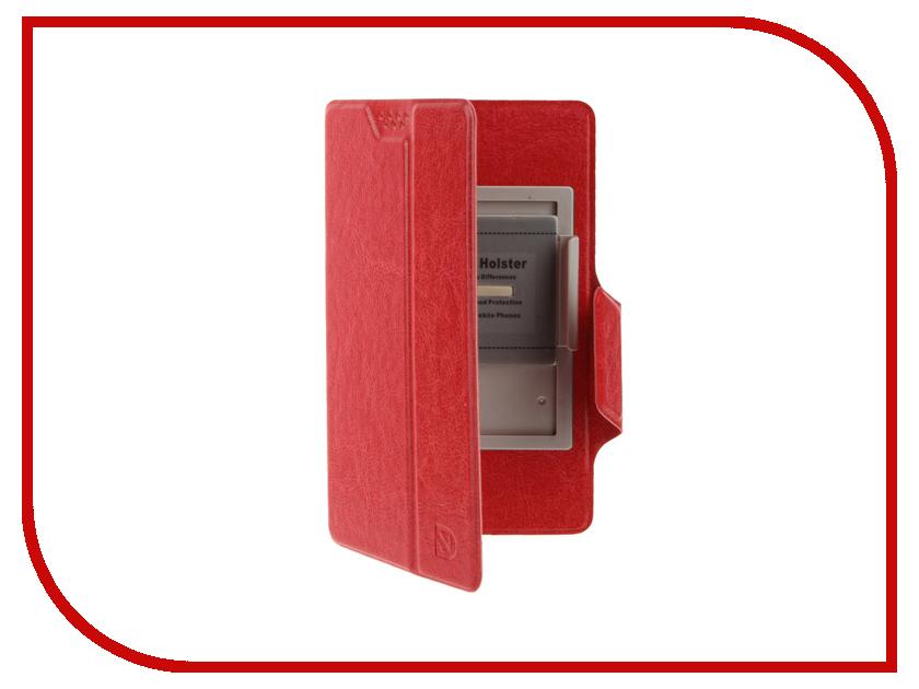 Аксессуар Чехол Dekken L 5.1-5.5-inch универсальный Red 20033<br>