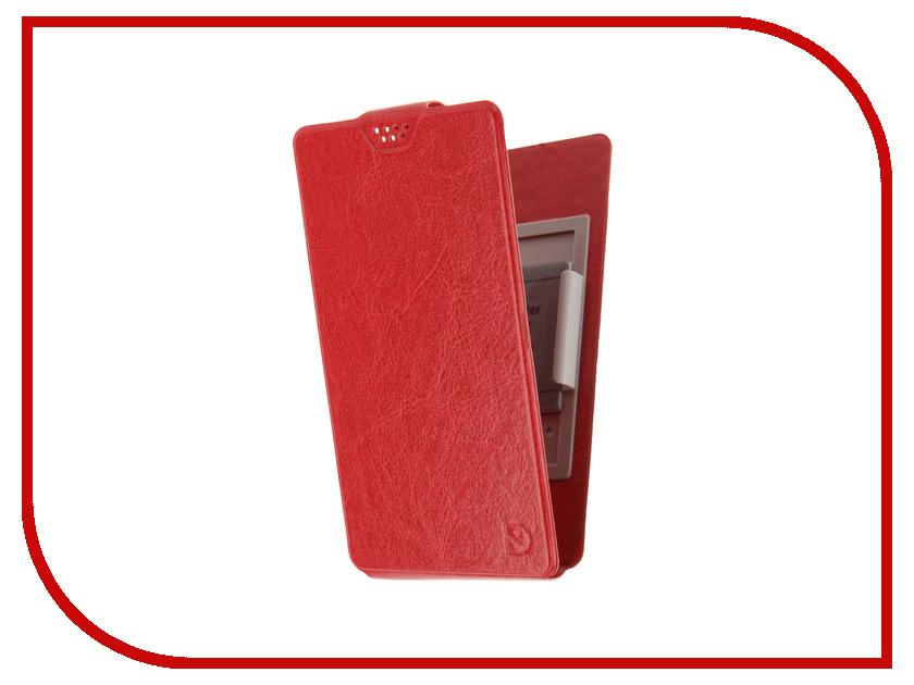 Аксессуар Чехол Dekken L 5.1-5.5-inch универсальный Red 20104