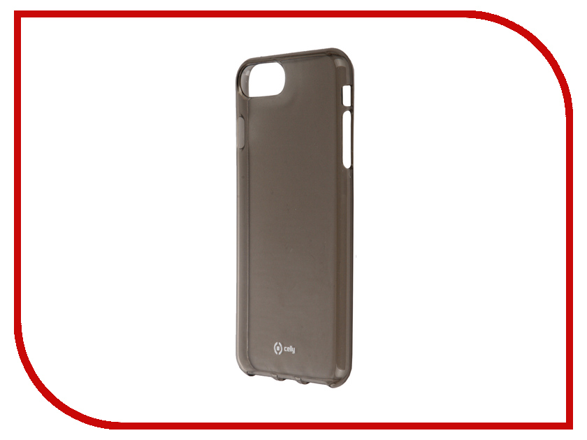 Аксессуар Чехол Celly Gelskin для APPLE iPhone 7 Plus Black GELSKIN801BK<br>