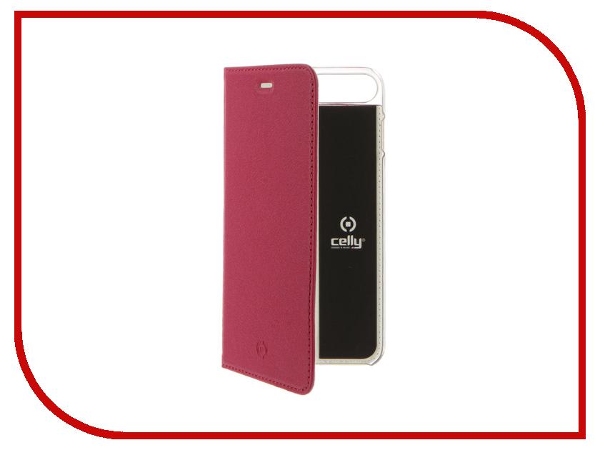 Аксессуар Чехол Celly Air Pelle для APPLE iPhone 7 Plus Pink AIRPELLE801PK<br>
