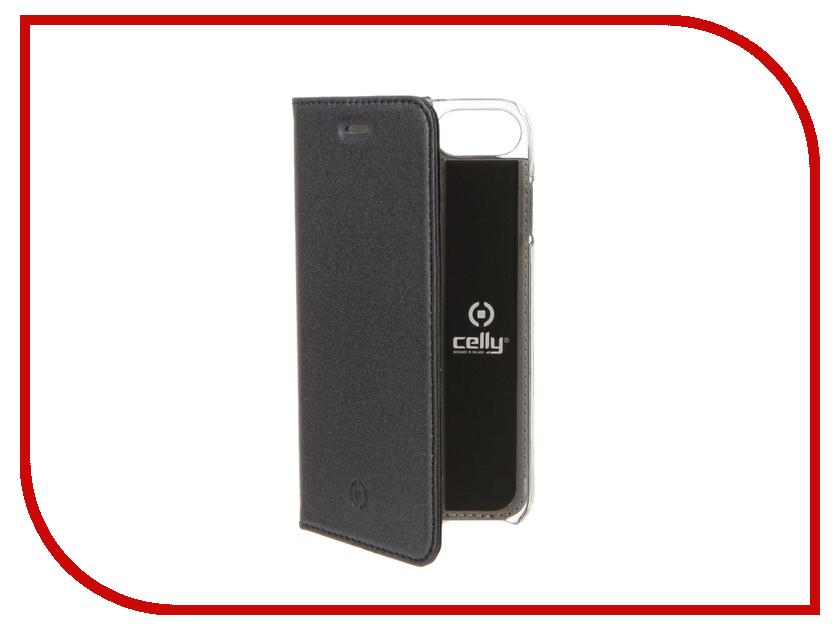 Аксессуар Чехол Celly Air Pelle для APPLE iPhone 7 Blue AIRPELLE800BL<br>