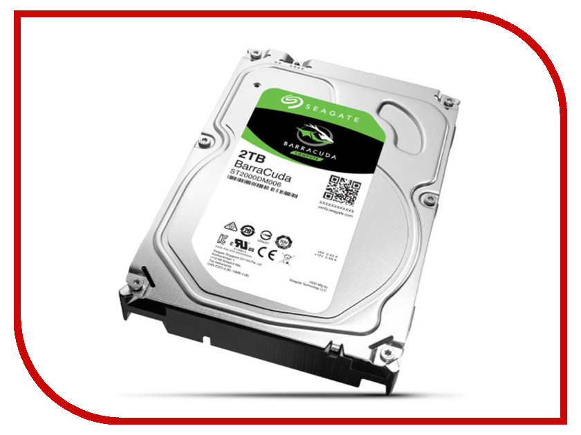 Жесткий диск 2Tb - Seagate ST2000DM006 Barracuda<br>