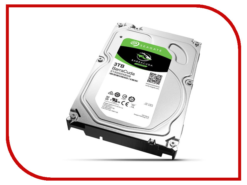 Жесткий диск 3Tb - Seagate ST3000DM008 Barracuda 2tb seagate barracuda st2000dm001