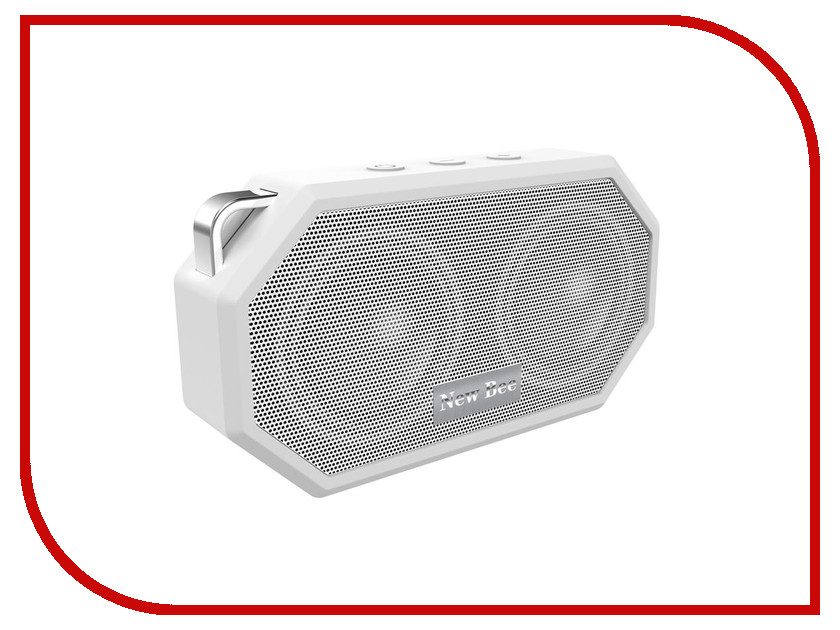 Колонка New Bee Bluetooth Speaker White<br>