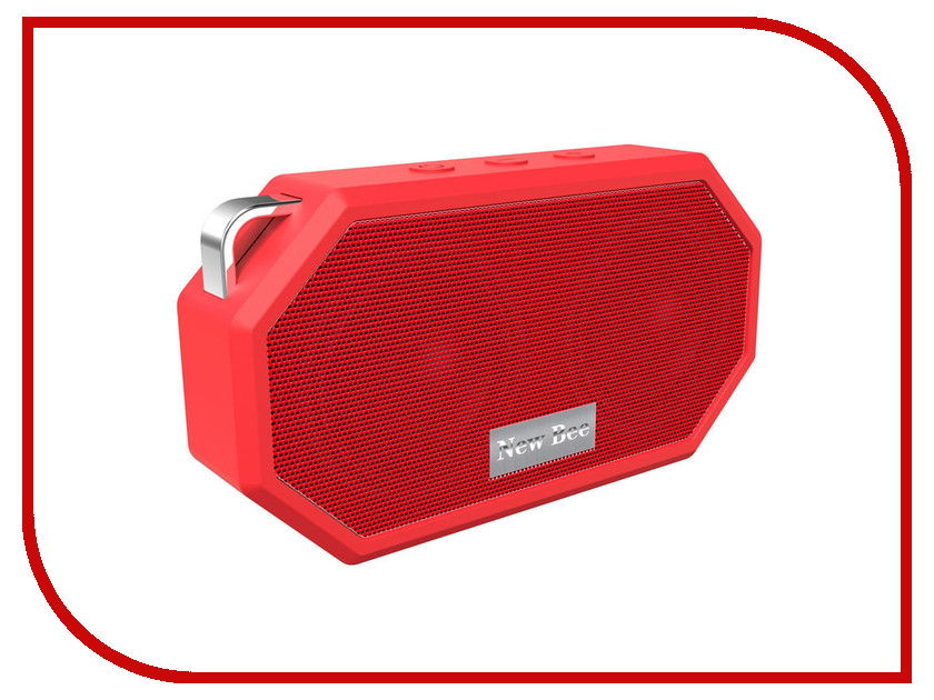 Колонка New Bee Bluetooth Speaker Red<br>