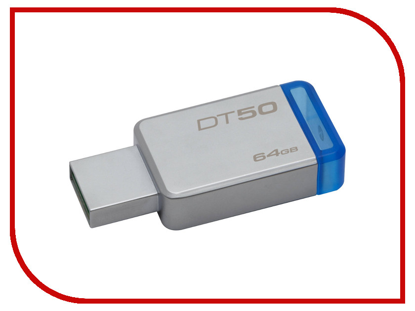 USB Flash Drive 64Gb - Kingston DataTraveler 50 USB 3.1 DT50/64GB ritech vr go 3d vr headset