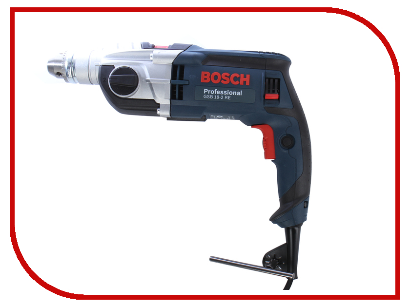 Электроинструмент Bosch GSB 19-2 RE Professional (ЗВП) 060117B600 электроинструмент bosch psb 650 re case бзп
