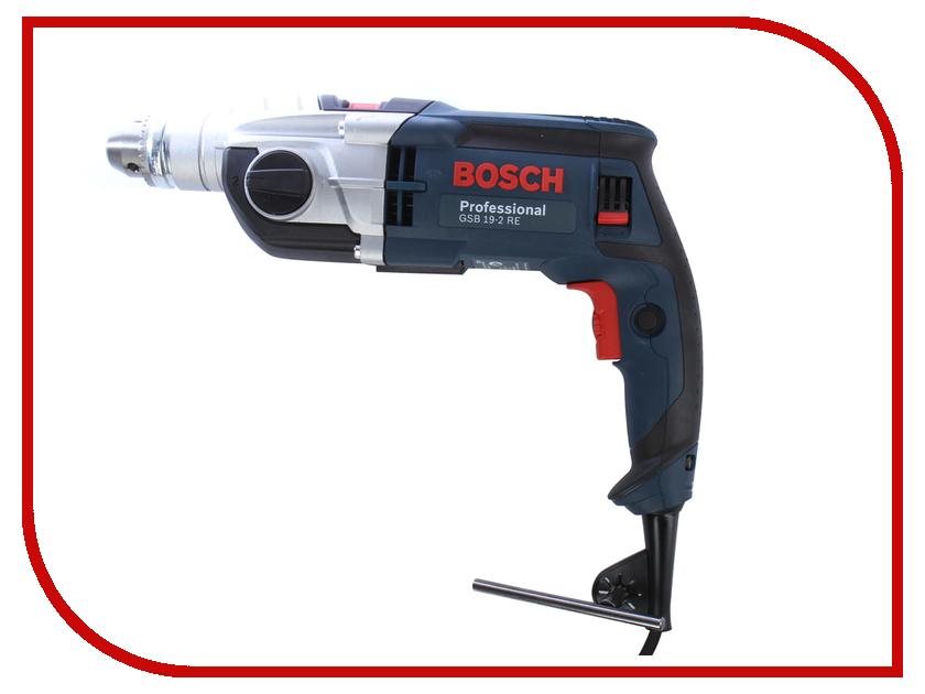 Электроинструмент Bosch GSB 19-2 RE Professional (ЗВП) 060117B600 дрель bosch gsb 192 re 0 601 17в 500