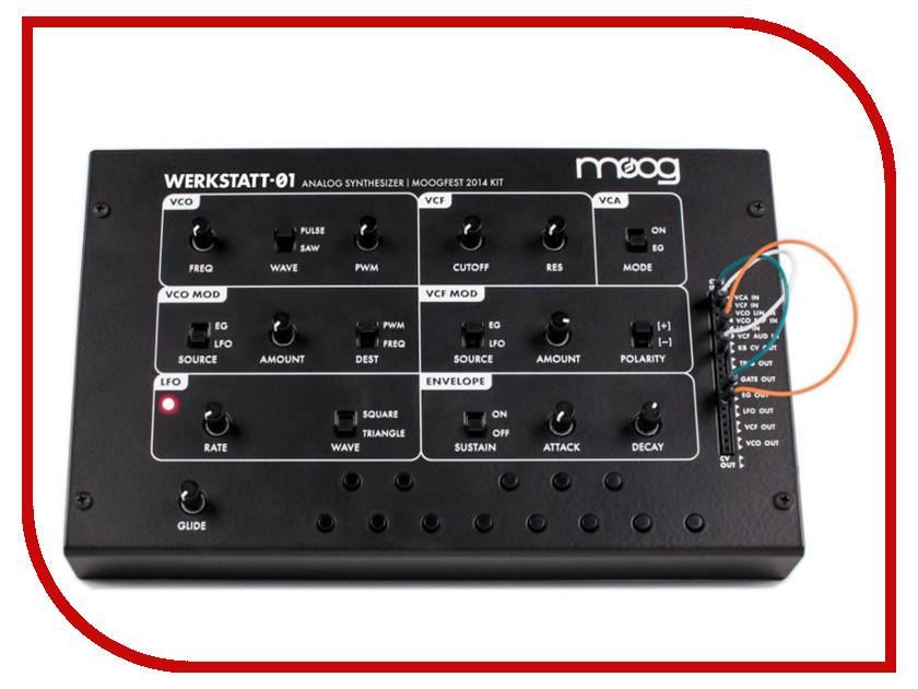 Синтезатор Moog Werkstatt moog m44272f 012