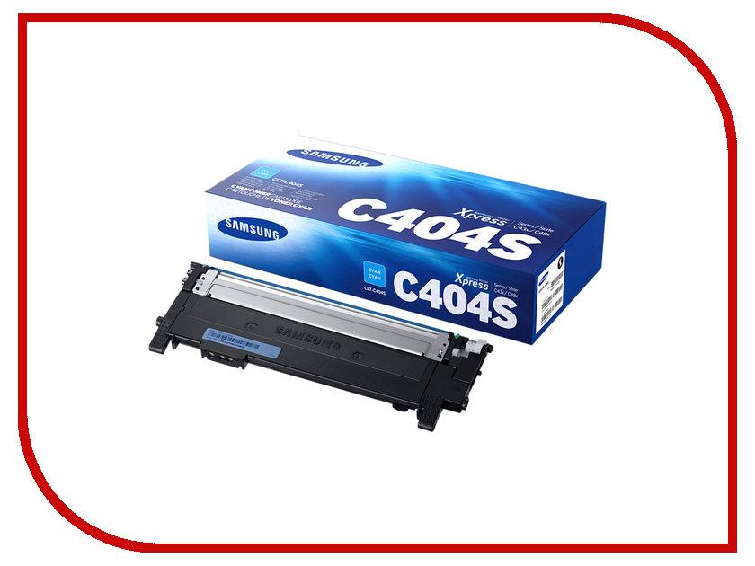 Картридж Samsung CLT-C404S/XEV для SL-C430/C430W/C480/C480W/C480FW Blue картридж для лазерного принтера samsung clt k404s xev