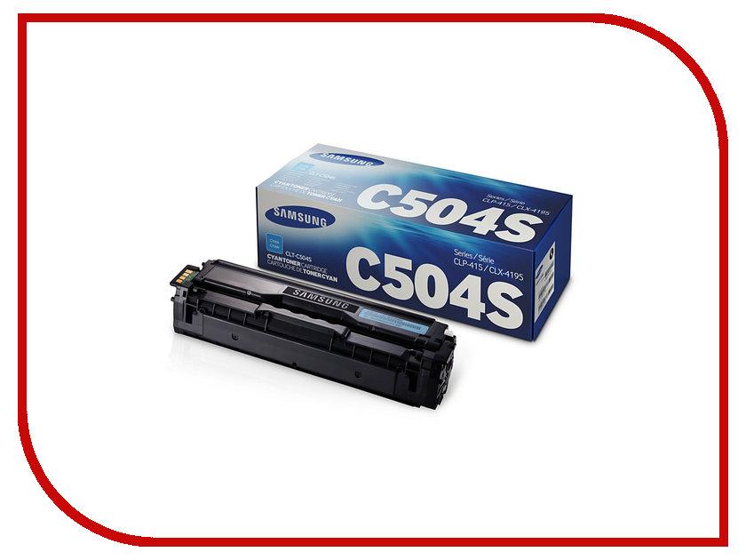 Картридж Samsung CLT-C504S/SEE для CLP-415/CLX-4195 Blue кобура кобура gletcher поясная для clt 1911