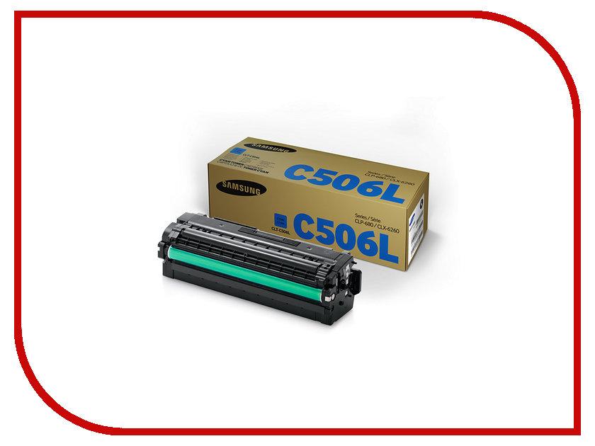 Картридж Samsung CLT-C506L/SEE для CLP-680/CLX-6260 Blue<br>