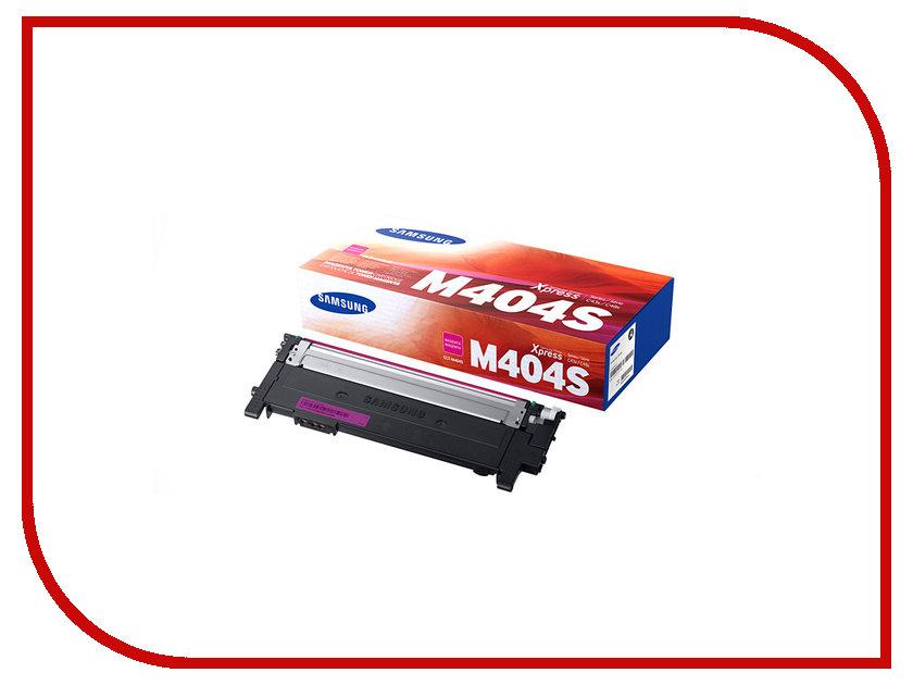 Картридж Samsung CLT-M404S/XEV для SL-C430/C430W/C480/C480W/C480FW Purple nv print clt k404s black тонер картридж для samsung sl c430 c430w c480 c480w c480fw