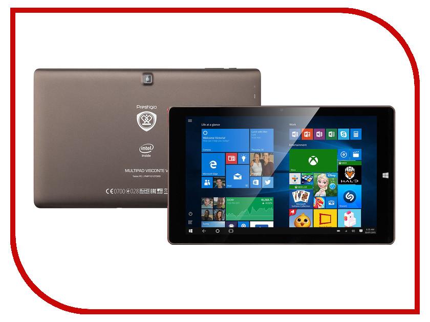 Планшет Prestigio MultiPad Visconte V PMP1012TDRD Intel Atom Z3735F 1.83 GHz/2048Mb/16Gb/Wi-Fi/Bluetooth/Cam/10.1/1280x800/Windows<br>