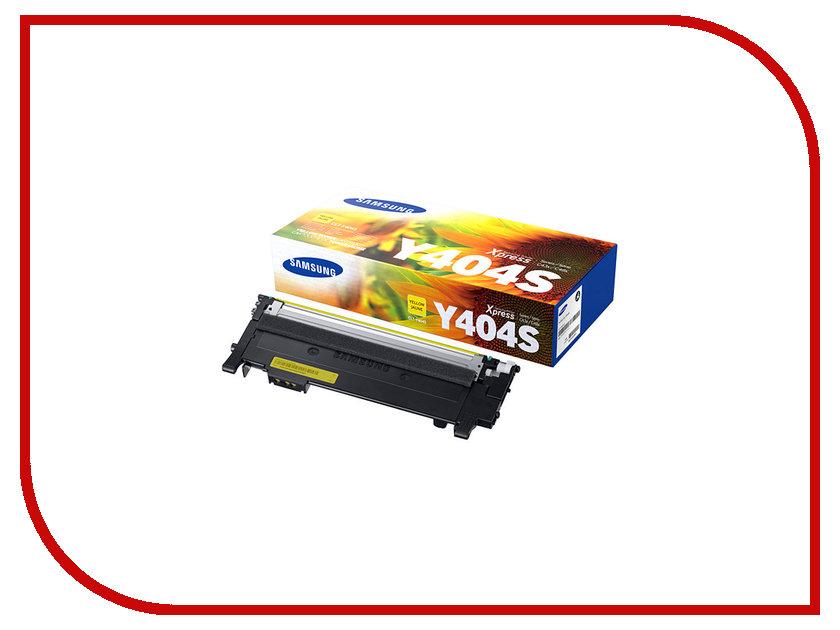 Картридж Samsung CLT-Y404S/XEV для SL-C430/C430W/C480/C480W/C480FW Yellow картридж для лазерного принтера samsung clt k404s xev