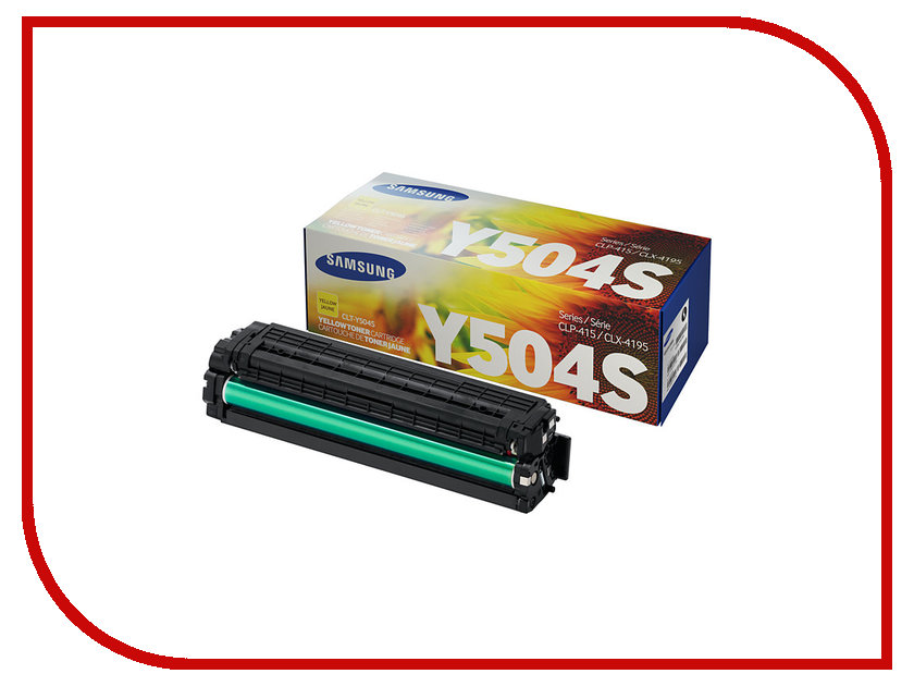 Картридж Samsung CLT-Y504S/SEE для CLP-415 Yellow картридж samsung clt c504s see голубой