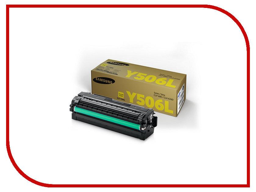 Картридж Samsung CLT-Y506L/SEE для CLP-680/CLX-6260 Yellow<br>