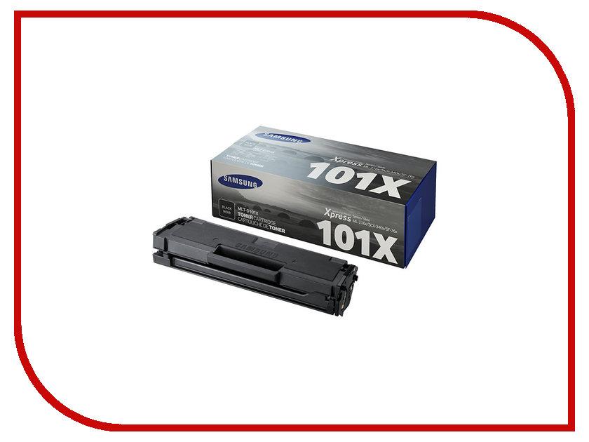 Картридж Samsung MLT-D101X для ML-2160/2165/SCX-3400/3405 Black картридж samsung mlt d104x
