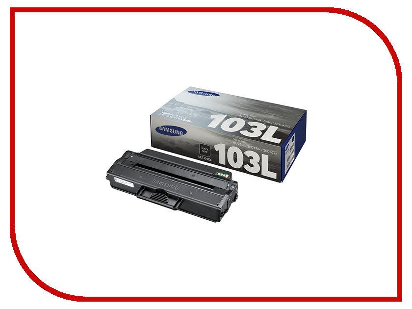 Картридж Samsung MLT-D103L для ML-2950ND/2955ND/2955DW Black<br>