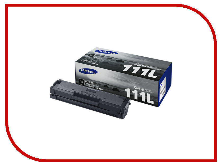 Картридж Samsung MLT-D111L/SEE для Xpress M2022/M2022W/M2020/M2021/M2020W/M2021W/M207 Black 1pcs compatible toner cartridge mlt d111s mlt d111s 111 for samsung m2022 m2022w m2020 m2021 m2020w m2021w m2070 m2071fh printer