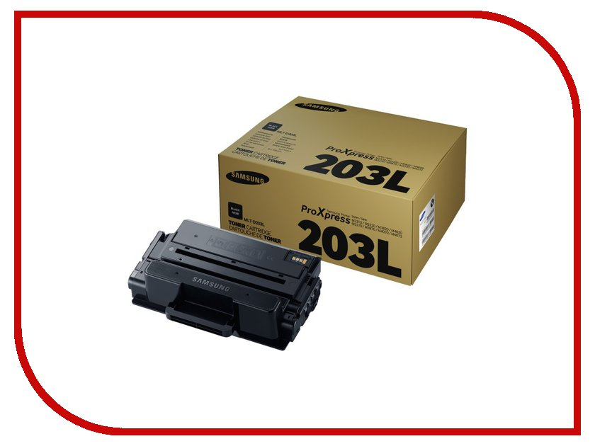Картридж Samsung MLT-D203L для SL-M3320/3820/4020/M3370/3870/4070 Black картридж samsung mlt d105l
