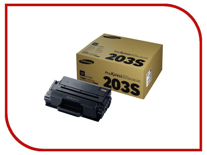 Картридж Samsung MLT-D203S для SL-M3320/3820/4020/M3370/3870/4070 Black тонер samsung mlt d205l see