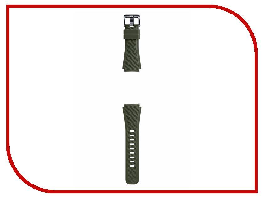 Аксессуар Ремешок Samsung ET-YSU76MGEGRU для Gear S3 Frontier / Gear S3 Classic Khaki gear s3 часы купить