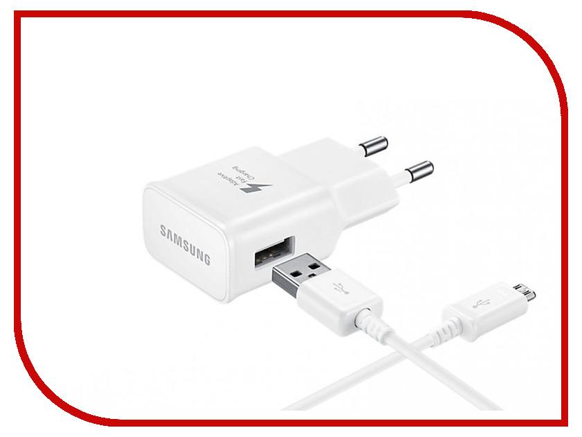 Зарядное устройство Samsung microUSB White EP-TA20EWECGRU<br>