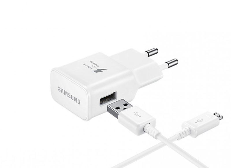 цена на Зарядное устройство Samsung USB Type-C White EP-TA20EWECGRU
