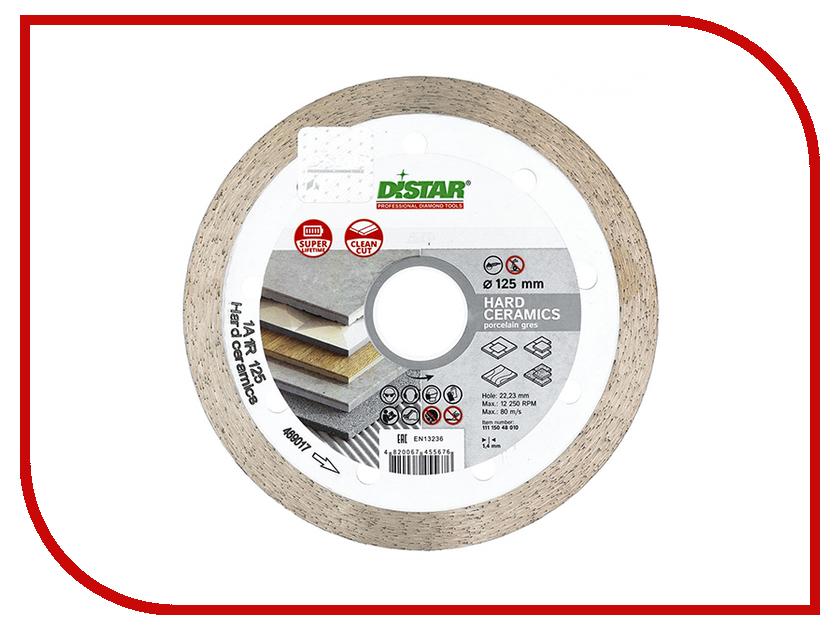 Диск Distar 1A1R Hard Ceramics алмазный 125x1.4x8x22.225mm 11115048010
