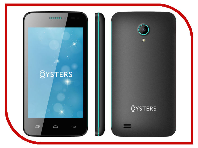 Сотовый телефон Oysters Indian V Black-Green<br>