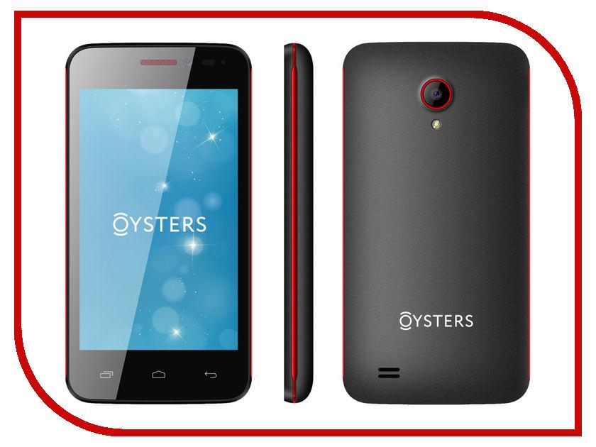 Сотовый телефон Oysters Indian V Black-Red<br>