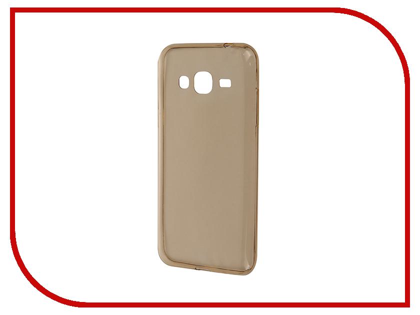 Аксессуар Чехол Samsung Galaxy J3 2016 SM-J320F Zibelino Ultra Thin Case Gold ZUTC-SAM-J3-2016-GLD<br>