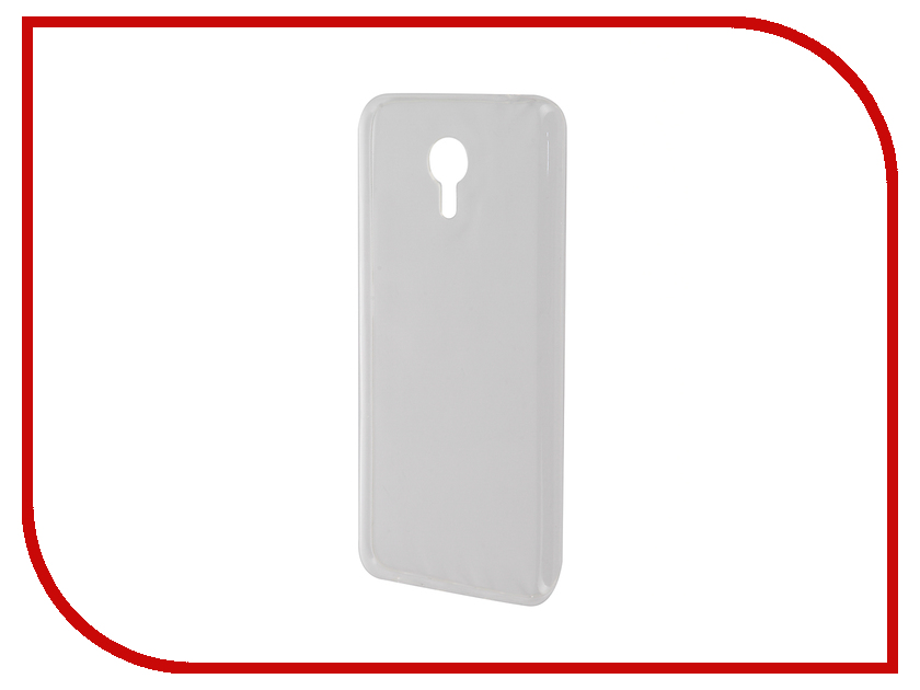 Аксессуар Чехол Meizu M3 Note Zibelino Ultra Thin Case White ZUTC-MZU-M3-NOT-WHT