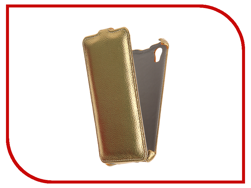 Аксессуар Чехол ZTE Blade X3 Zibelino Classico Gold ZCL-ZTE-X3-GLD<br>
