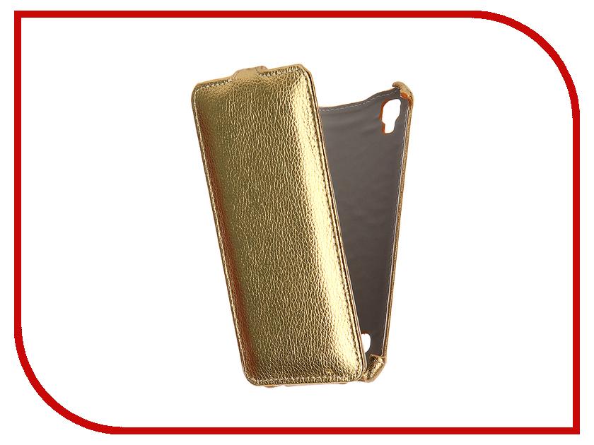 Аксессуар Чехол LG X Style Zibelino Classico Gold ZCL-LG-XST-GLD<br>