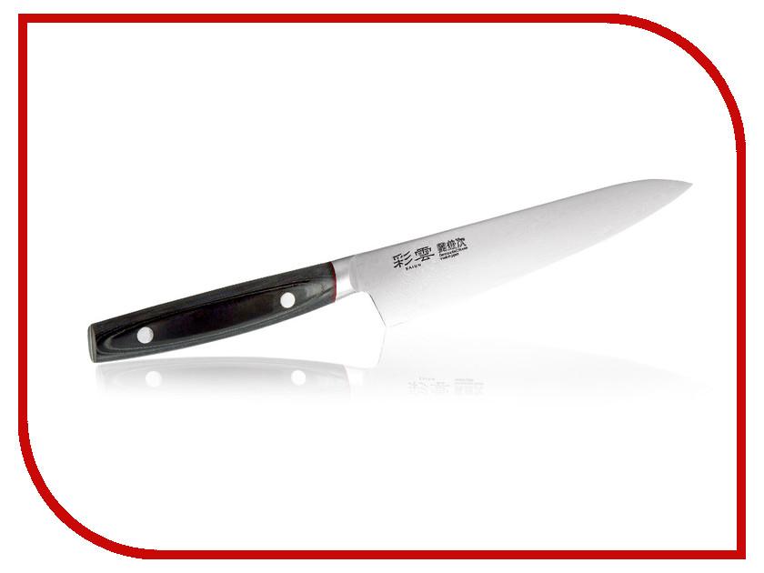 Нож Tojiro Kanetsugu Saiun Damascus 9002 - длина лезвия 150мм