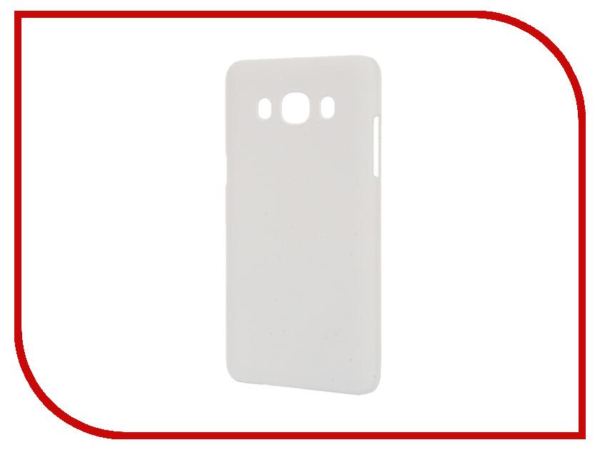 Аксессуар Чехол Samsung Galaxy J5 2016 BROSCO Soft Touch White J5-SOFTTOUCH-WHITE<br>
