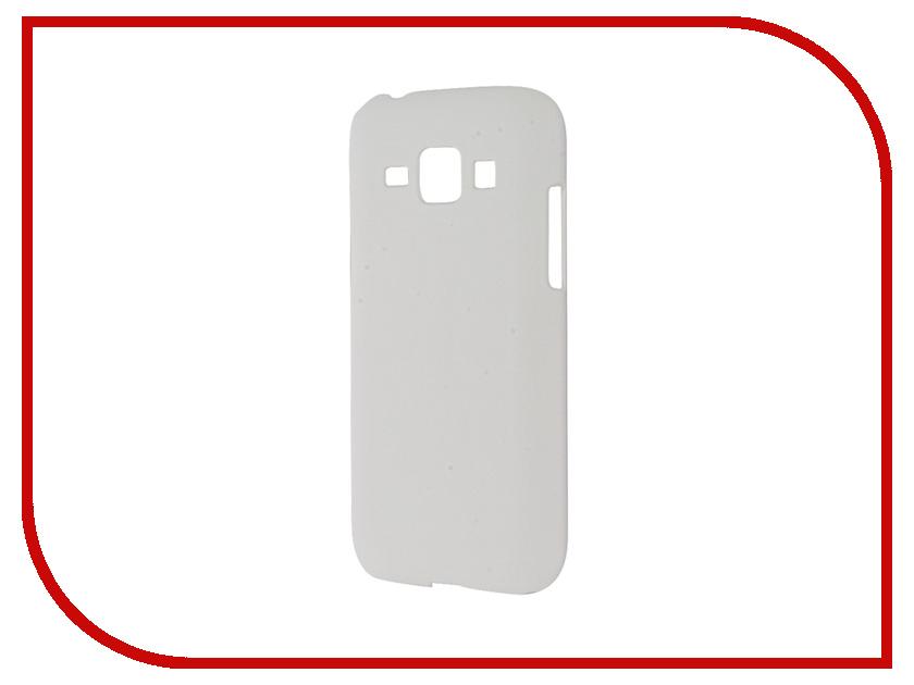 Аксессуар Чехол Samsung Galaxy J1 2016 BROSCO Soft Touch White J1-SOFTTOUCH-WHITE<br>