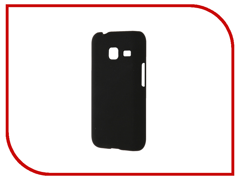 Аксессуар Чехол Samsung Galaxy J1 Mini BROSCO Soft Touch Black J1M-SOFTTOUCH-BLACK<br>