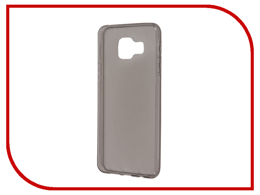 Аксессуар Чехол Samsung Galaxy A3 BROSCO Black SS-A3-TPU-BLACK<br>