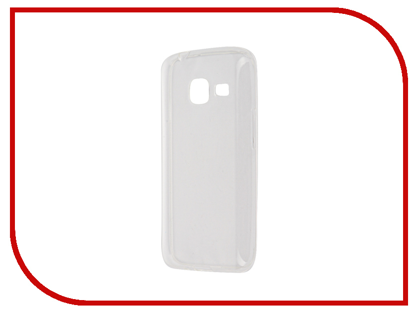 Аксессуар Чехол Samsung Galaxy J1 Mini BROSCO Transparent SS-J1M-TPU-TRANSPARENT<br>