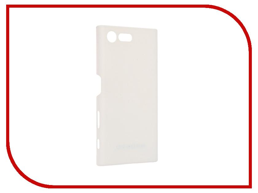 Аксессуар Чехол Sony Xperia X Compact Soft Touch BROSCO White XC-SOFTTOUCH-WHITE